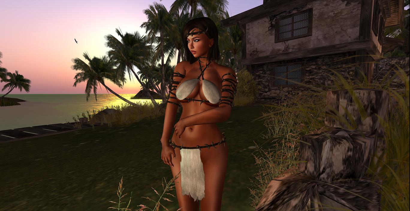 The slave huntress