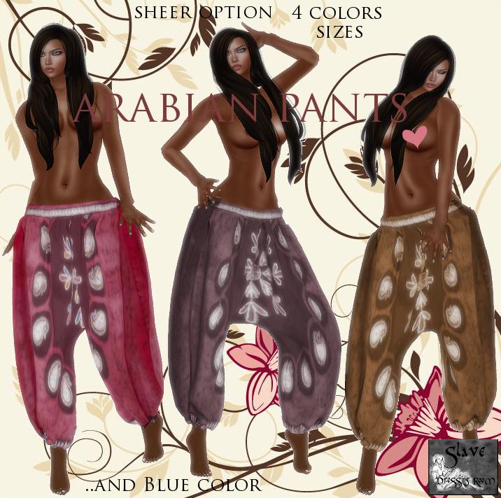 Arabian Pants vend