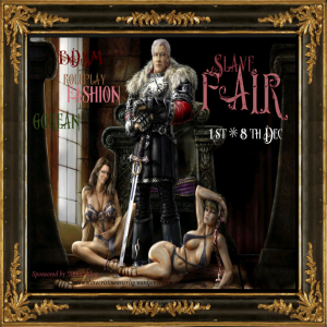 Slave FAIR _ 1st - 8th Dec _
